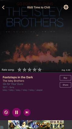 Footsteps in the Dark by The Isley Brothers on AccuRadio