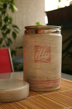 a casa di eli per l'ora del tè: Ricicliamo un barattolo di latta (parte seconda)