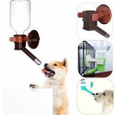 Dog Auto Water Feeder Hanging Bottle Drinking Fountain Dispenser Pet Cat Puppy