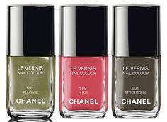 Chanel Superstition Collection Fall 2013 Nail Polish. #costablanca #CBfallspree @Armanda Costa Blanca