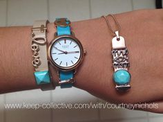 Will you create a bracelet or necklace? Or both? What can I help you design? https://www.keep-collective.com/soc/cm4ze