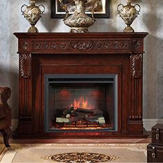 Electric Fireplace On A Budget: 6 Tips From The Great Depression ~ http://ever-unfolding.net/best-electric-fireplace-reviews/