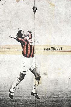 Ruud Gullit - History Ballon D'Or by Giuseppe Vecchio Barbieri, via Behance