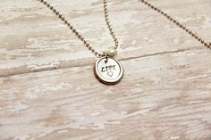 Love to Life Pewter Hand Stamped Fitness by BeastModeJewelry