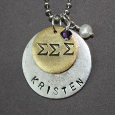 Tri Sigma. We would've all wanted one of these in college!