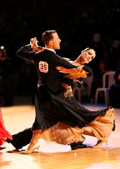 Mirko Gozzoli and Edita Daniute- A revolutionary couple in modern day ballroom dancing.