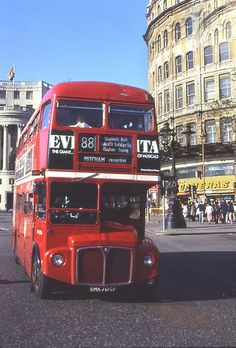 London Red Bus, Old London, London Transport, Mode Of Transport, Routemaster, Rule Britannia, Double Decker Bus, Bus Coach, Bus Travel