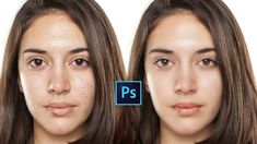 Photoshop Tutorial : Retouch And Airbrush Skin To Make Smooth Quickly In...