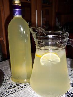 Simple lemonade syrup