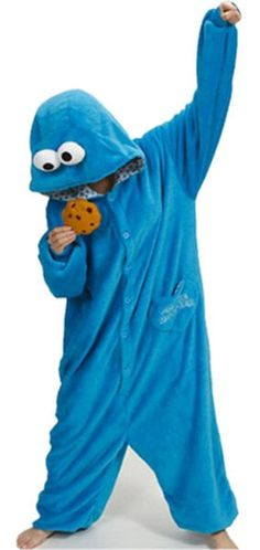 Cookie Monster Onesie for Adults