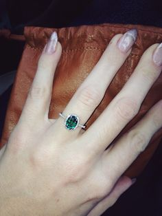Emerald Engagement Ring - Weddingbee