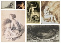 Rembrandt Collection V (Nude)