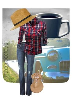 """""""Weekend Wear"""" by graciep0o on Polyvore featuring CAbi, Black Rivet and Topshop"""