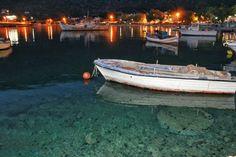 #Crystal_clear #Greece #sea #boat