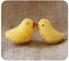 Little chicks - visit my blog for a free pattern http://thelittlegnomeshome.blogspot.com.au/