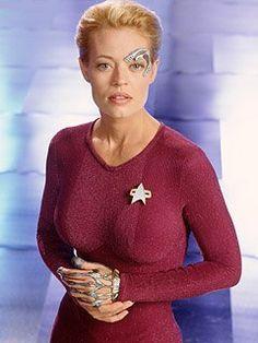 Star Trek Female Characters | Favorite Star Trek Female Character (All TV Series) Seven of Nine