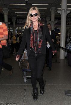 Kate Moss takes Eurostar back to London | Kate Moss Universe