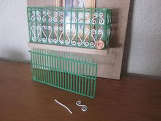 LOLYALIMINIS: TUTORIALS Railing and wire shaped on jigs
