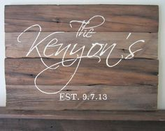 Hey, I found this really awesome Etsy listing at http://www.etsy.com/listing/158323487/last-name-and-wedding-date-barnwood-sign