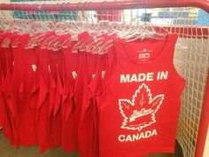 Perfect for #CanadaDay ! @BardownHockey TANKS  $25 each! Limited supply come #ShopSmall now!