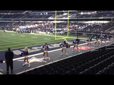 Dallas Cowboys Cheerleaders 2012-2013 first squad appearance
