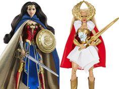 Barbies da Mulher Maravilha e She-Ra