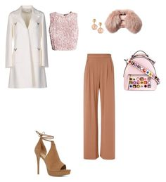 """Untitled #3143"" by anamaria-zgimbau ❤ liked on Polyvore featuring Fendi, Valentino, Fleur du Mal, ALDO, Steffen Schraut and Pasquale Bruni"
