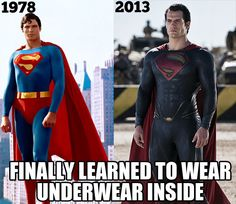 You took your time, Superman…hahaha XD