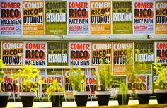 A handmade typography for home-grown Argentinian Masticar food fair   AIGA Eye on Design
