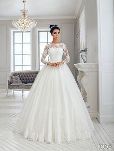 View Dress Sans Pareil Bridal Collection 977 Bold Floral