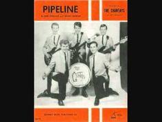 The Chantays Pipeline USA surf instrumental 1963 - YouTube