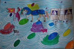 KooMiKi Kreativ Camp  Kinderzeichnung