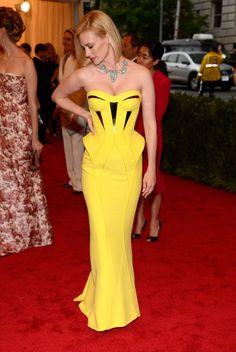 Met Gala picks: January Jones in Versace
