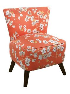Embroidered Chair from Quick-Ship Furnishings Feat. Skyline on Gilt