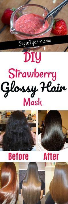 DIY Hair Shine Mask