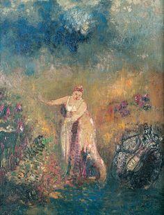 Odilon Redon (1840-1916), Le Bain de Vénus - 1908/13