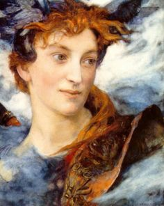 Edgar Maxence (French: 1871–1954), was a French Symbolist painter |Tête Divine
