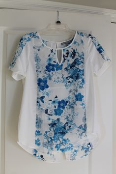 I love this Daniel Rainn Lander Watercolor Floral Print Blouse from Stitch Fix for Spring/Summer!