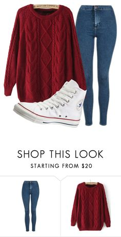 """all over town"" by sydthekyd01 on Polyvore featuring Topshop and Converse"