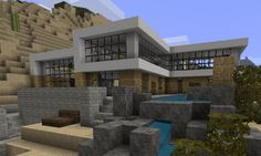 GOLD HOUSE | ... , minecraft statues, minecraft house pictures. | Minecraft-Gold.com