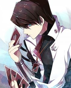 I don't know about you, but Kaiba (yugioh) reminds me of Light Yagami (Death Note) very much