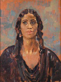 A West Indian Girl, Augustus John Woman Painting, Painting & Drawing, West Indian, Post Impressionism, Culture, Art Uk, National Museum, Indian Girls, Figure Drawing