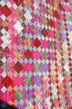 "Quilt it: ""Diagon Alley"" by Marit. Design by Kaffe Fassett"