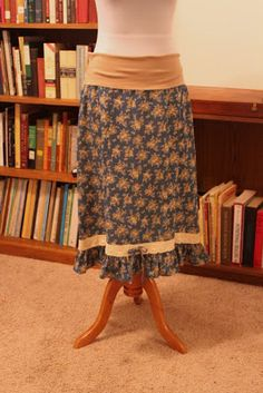 Thoughts and Thimbles: Four Easy Maternity Skirts
