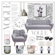 Grey Home by frenchfriesblackmg on Polyvore featuring interior, interiors, interior design, дом, home decor, interior decorating, Moe's Home Collection, Safavieh, Skandium and iittala