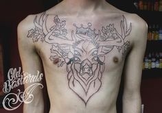 #inprogress #stag Tattoos, Tatuajes, Tattoo, Tattos, Tattoo Designs