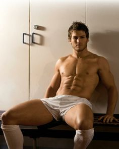 Sexy model of the day is…  the Australian professional rugby league footballer David Williams... pinned with Pinvolve