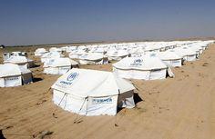 EFE: Campo de refugiados sirios en Jordania