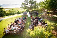Gorgeous Waterfront Wedding Ceremony at Harborside East