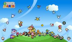 Every Paper Mario Partner by *Nelde on deviantART